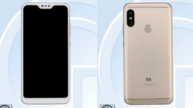 Xiaomi Redmi 6 Plus как и  iPhone X-Like замечен на TENAA
